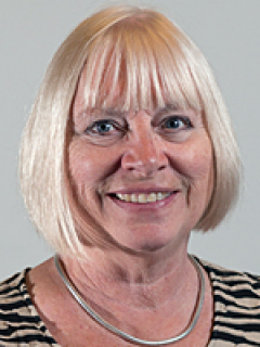 Photograph of Cllr Jacky Pendleton