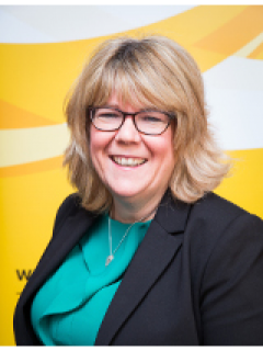 Photograph of  Cath Robinson