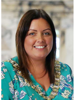 Photograph of  The Rt. Hon. the Lord Mayor, Councillor Deirdre  Hargey - SF