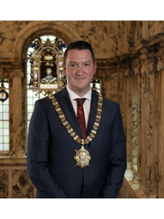 The Rt. Hon. the Lord Mayor, Councillor John Finucane