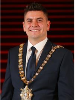 Photograph of  The Rt. Hon. the Lord Mayor, Councillor Daniel Baker