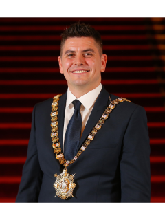 Photograph of Cllr Daniel Baker