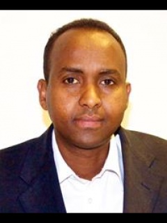 Photograph of Cllr Harbi Farah