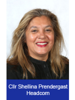 Photograph of Cllr Shellina Prendergast