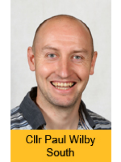 Photograph of Cllr Paul Wilby