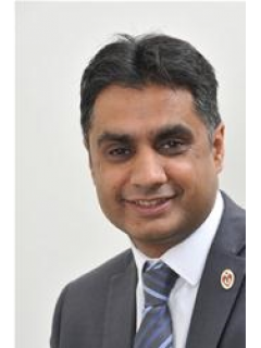 Photograph of Cllr Khalil Ahmed