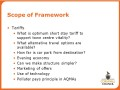 Scope of framework (3)