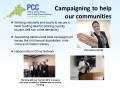 Campaigning to Help our Communities