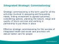 Integrated Strategic Commissioning (1)