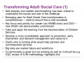 Transforming Adult Social Care (1)