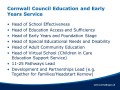 Cornwall Council Education and Early Years Service