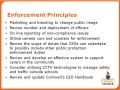 Enforcement Principles