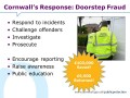 Cornwall's Response: Doorstep Fraud