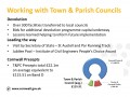 Working with Town & Parish Councils