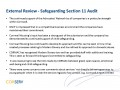 External Review - Safeguarding Section 11 Audit
