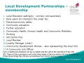 Local Development Partnerships –membership