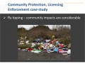 Community Protection, Licensing Enforcement case study