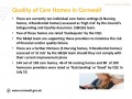 Quality of Care Homes in Cornwall