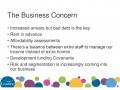 The Business Concern